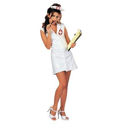 Rubies Naughty Nurse Costume Dress and Headpiece