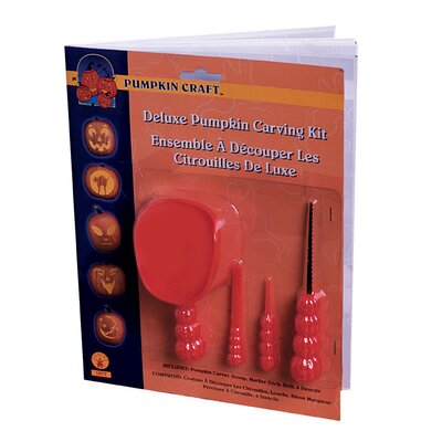 Rubies Deluxe Pumpkin Carving Kit