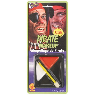 Rubies Fast Face Pirate Make-up Kit