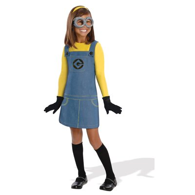 Minion Female Kids Costume