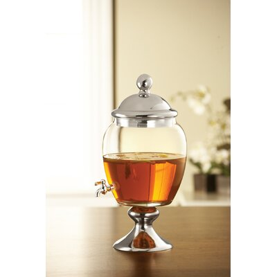 233 Oz Glass Beverage Dispenser
