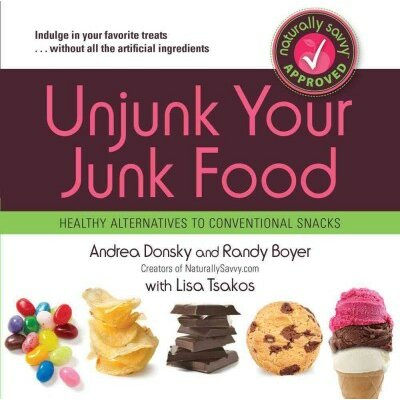 Simon & Schuster Unjunk Your Junk Food; Healthy Alternatives to Conventional Snacks