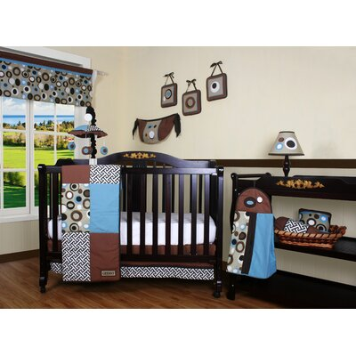 Geenny Boutique Scribble 12 Piece Crib Bedding Set
