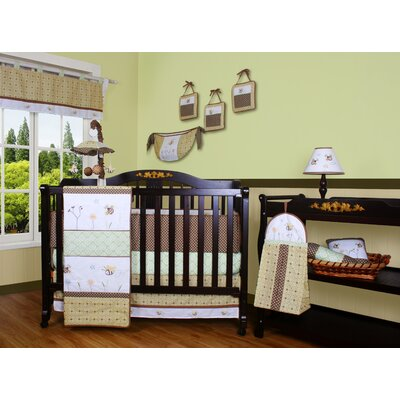 Boutique Bumble Bee 12 Piece Crib Bedding Set