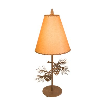 "Steel Partners Pinecone 30"" Narrow Table Lamp"