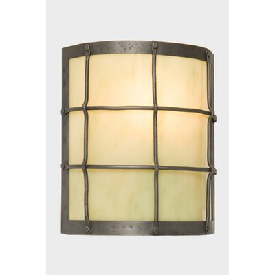 Steel Partners Ferron Forge Timber Ridge 1 Light Wall Sconce