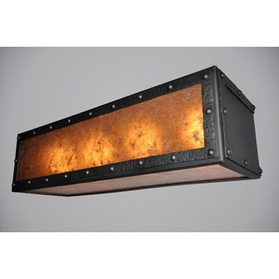 Steel Partners Rogue River Four Light Vanity Light