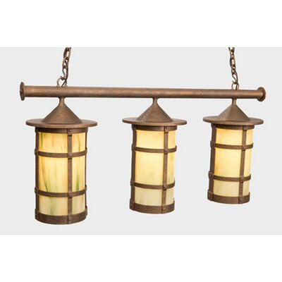 Steel Partners San Carlos Pasadena Triple Anacosti Light Pendant