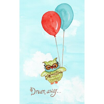 The Little Acorn Baby Owls Dream Away Wall Art