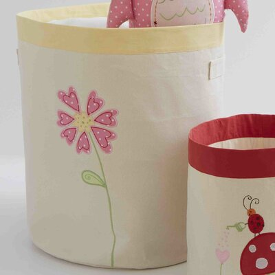 The Little Acorn Natureland Fairies Flower Toy Storage Bin