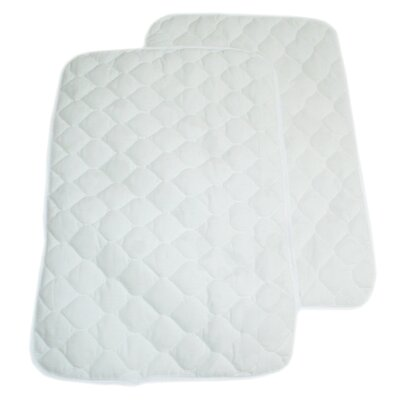 American Baby Company Quilted Lap and Burp Pads Two Each in Flat