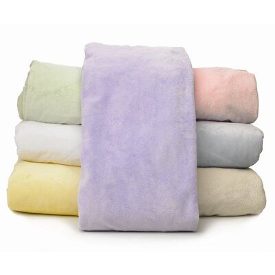 American Baby Company Heavenly Soft Chamois / Chenille Mini Crib Sheet