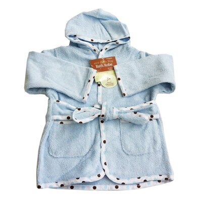 American Baby Company Organic Terry Baby Bath Robe in Blue