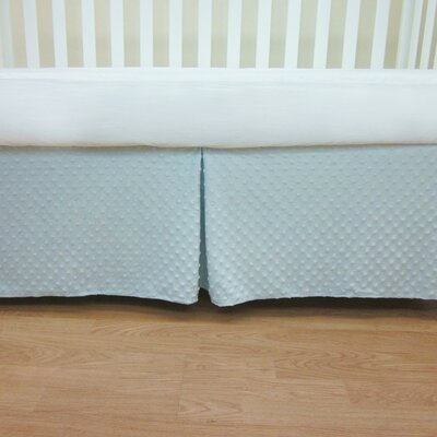 Heavenly Soft Minky Dot Mini Crib Skirt