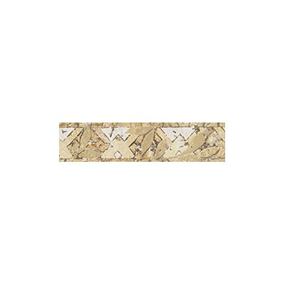 "Marazzi Presidential 2"" x 8"" Wall Listelli Decorative Border in Carnegie"