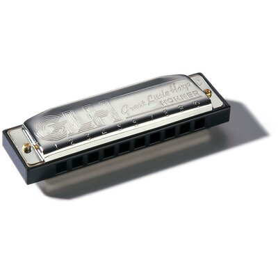Hohner Great Little Harp Harmonica in Chrome - Key of C