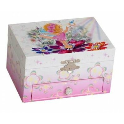 Tori Home Ashley Girl's Musical Ballerina Jewelry Box