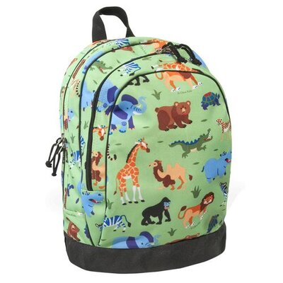 Olive Kids Wild Animals Backpack in Green