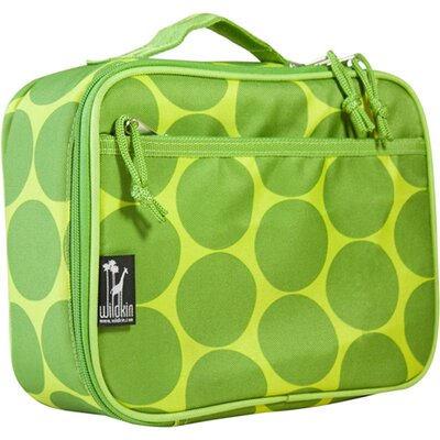 Wildkin Big Dots Green Lunch Box