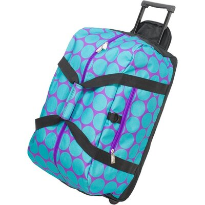 "Wildkin Good Times 22"" Rolling Duffel Bag"