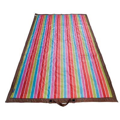 Wildkin Ashley Bright Stripes Picnic Blanket