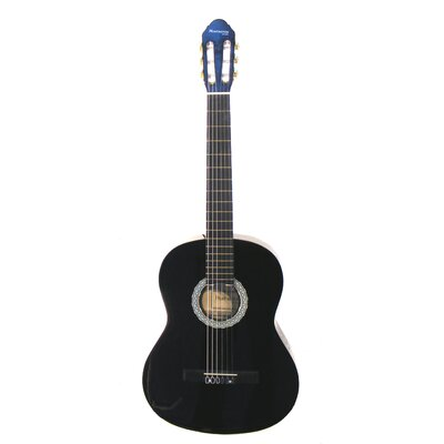 Huntington Black Balboa Especial Full Size Classical Acoustic Guitar