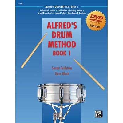 Alfred Publishing Company Drum Method, Book 1 (Book and DVD)