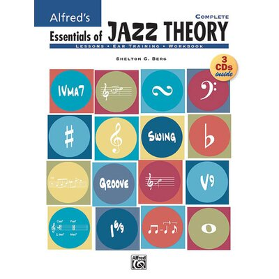 Alfred Publishing Company Essentials of Jazz Theory, Complete 1-3