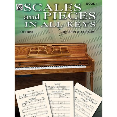 Alfred Publishing Company Scales and Pieces in All Keys, Book 1
