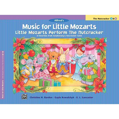 Alfred Publishing Company Music for Little Mozarts: Little Mozarts Perform the Nutcracker