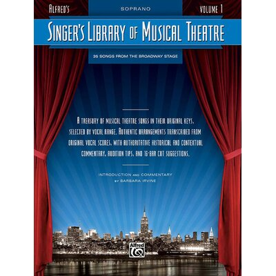 Alfred Publishing Company Singer's Library of Musical Theatre, Vol. 1 Music Book