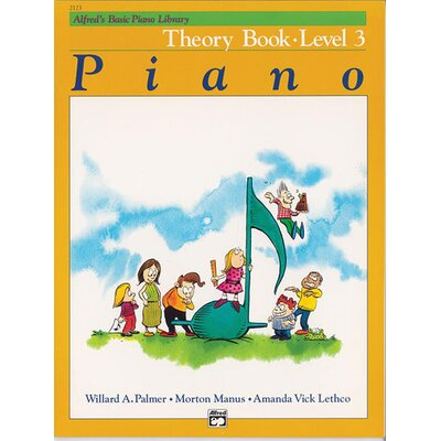 Alfred Publishing Company Basic Piano Course: Theory Book 3