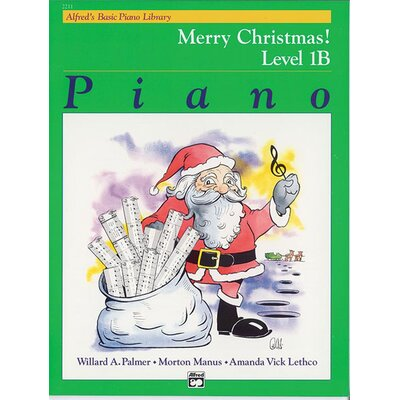 Alfred Publishing Company Basic Piano Course: Merry Christmas! Book 1B