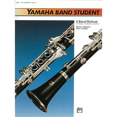 Alfred Publishing Company Yamaha Band Student, Book 1: B-Flat Clarinet