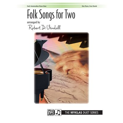 Alfred Publishing Company Folk Songs for Two