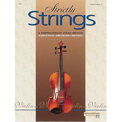 Alfred Publishing Company Strictly Strings: Violin (Book 2)
