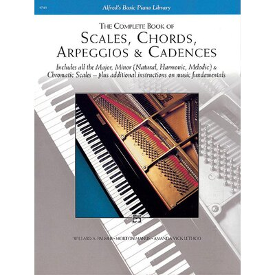 Alfred Publishing Company Scales, Chords, Arpeggios and Cadences - Complete Book