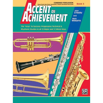 Alfred Publishing Company Accent on Achievement, Music Book 3
