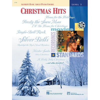 Alfred Publishing Company Basic Adult Piano Course: Christmas Hits Book 1