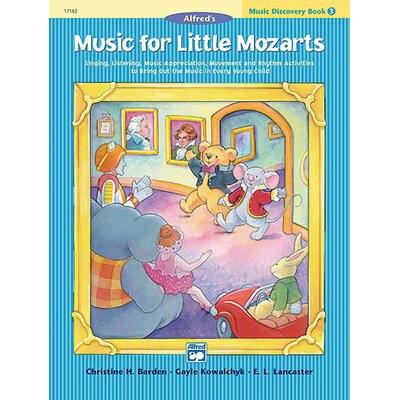 Alfred Publishing Company Music for Little Mozarts: Music Discovery Book 3