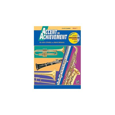Alfred Publishing Company Accent on Achievement - Book 1 E-Flat Alto Clarinet