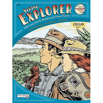 Alfred Publishing Company String Explorer - Book 1