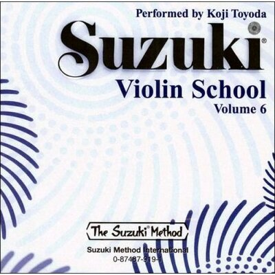 Alfred Publishing Company Suzuki Violin School CD, Volume 6