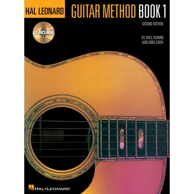 Hal Leonard Corporation Guitar Method - Book 1 with CD