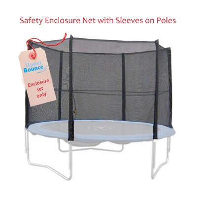 Upper Bounce 8 Pole Trampoline Enclosure Set to Fit 13 FT
