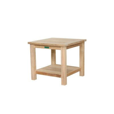 Anderson Collections Square Two Tier Side Table