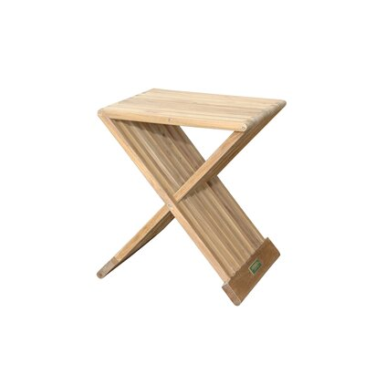 Anderson Collections Marilla Folding Side Table