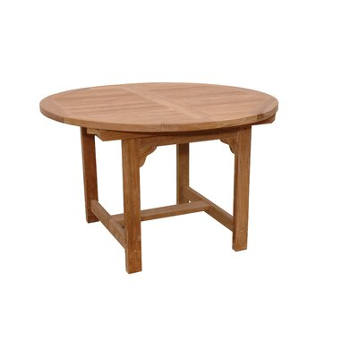 "Anderson Teak Bahama 67"" Oval Extension Dining Table"