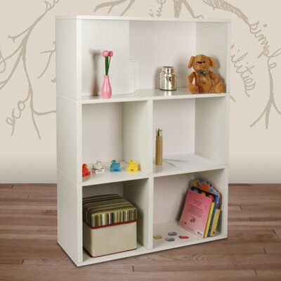 Way Basics Eco-Friendly Tribes Shelf in White