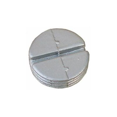 "Morris Products 0.5"" Hole Plugs in Gray"
